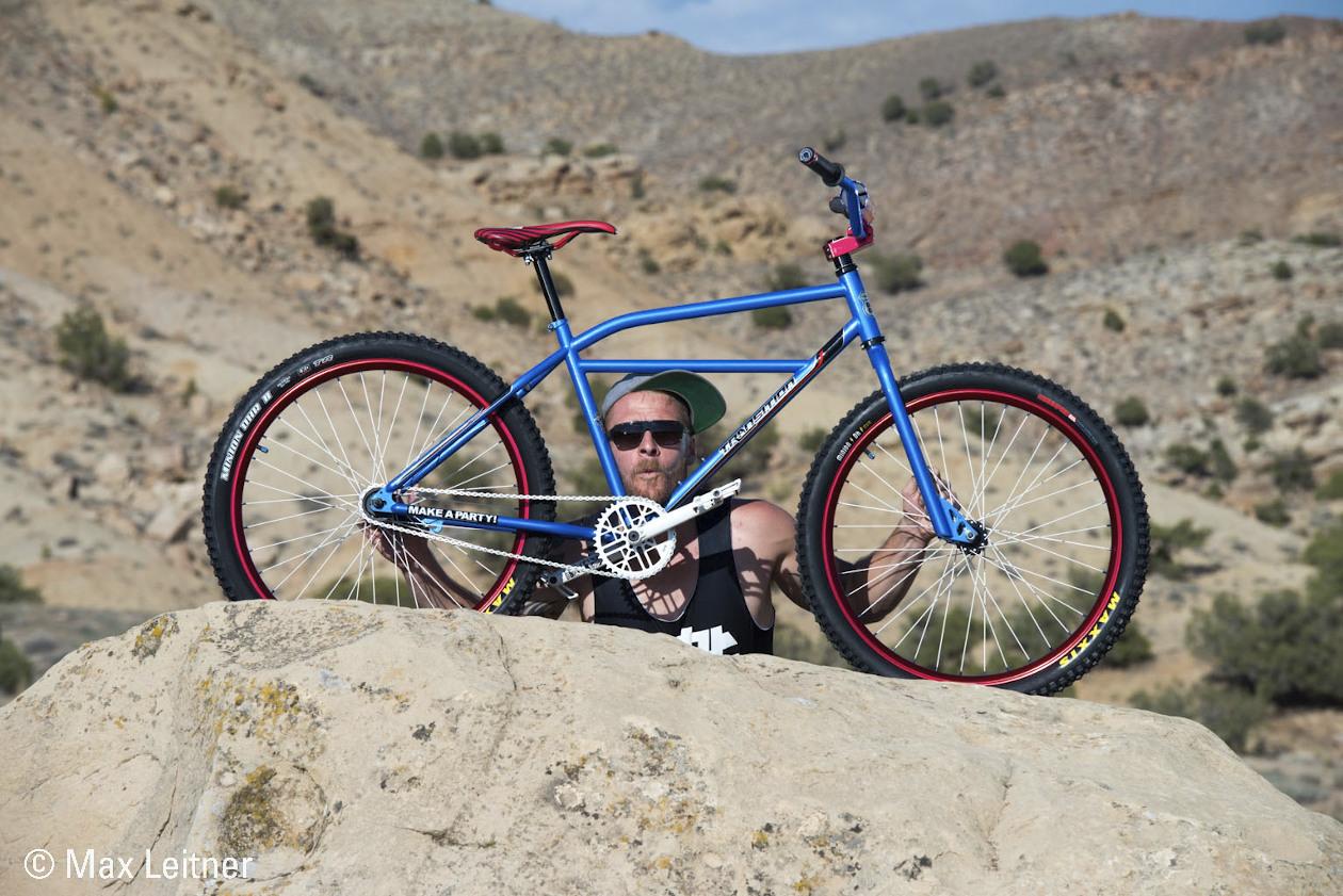 Aunt Samantha THE Klunker - RuRoost's Bike Check - Vital MTB