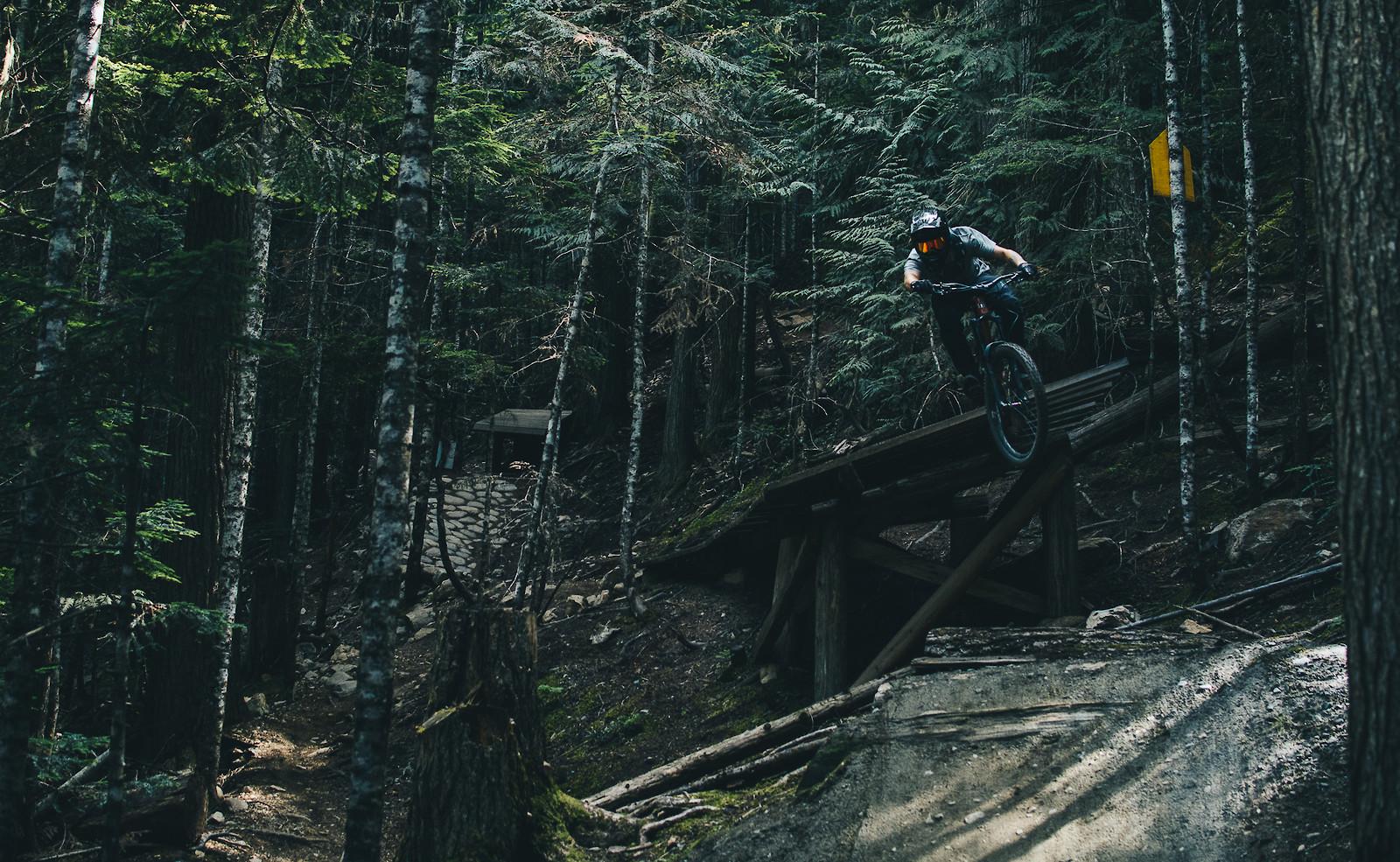Clown shoes Whistler Mountain Bike Park on hardtail - Banan - Mountain Biking Pictures - Vital MTB