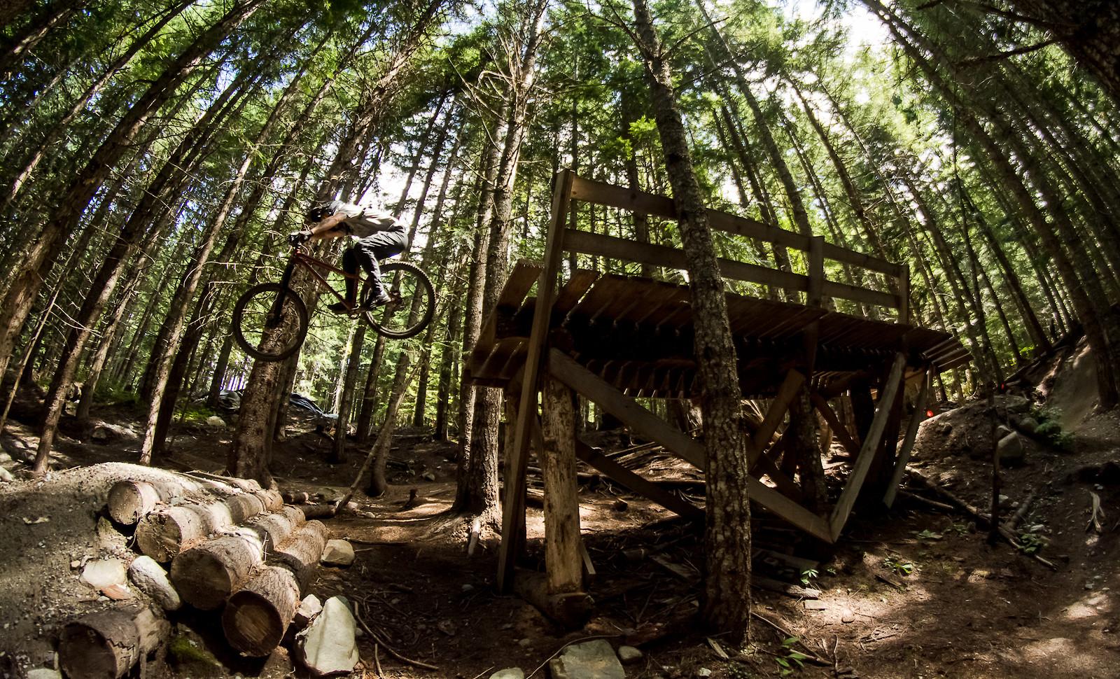 Whistler Mountain Bike Park on hardtail - Banan - Mountain Biking Pictures - Vital MTB
