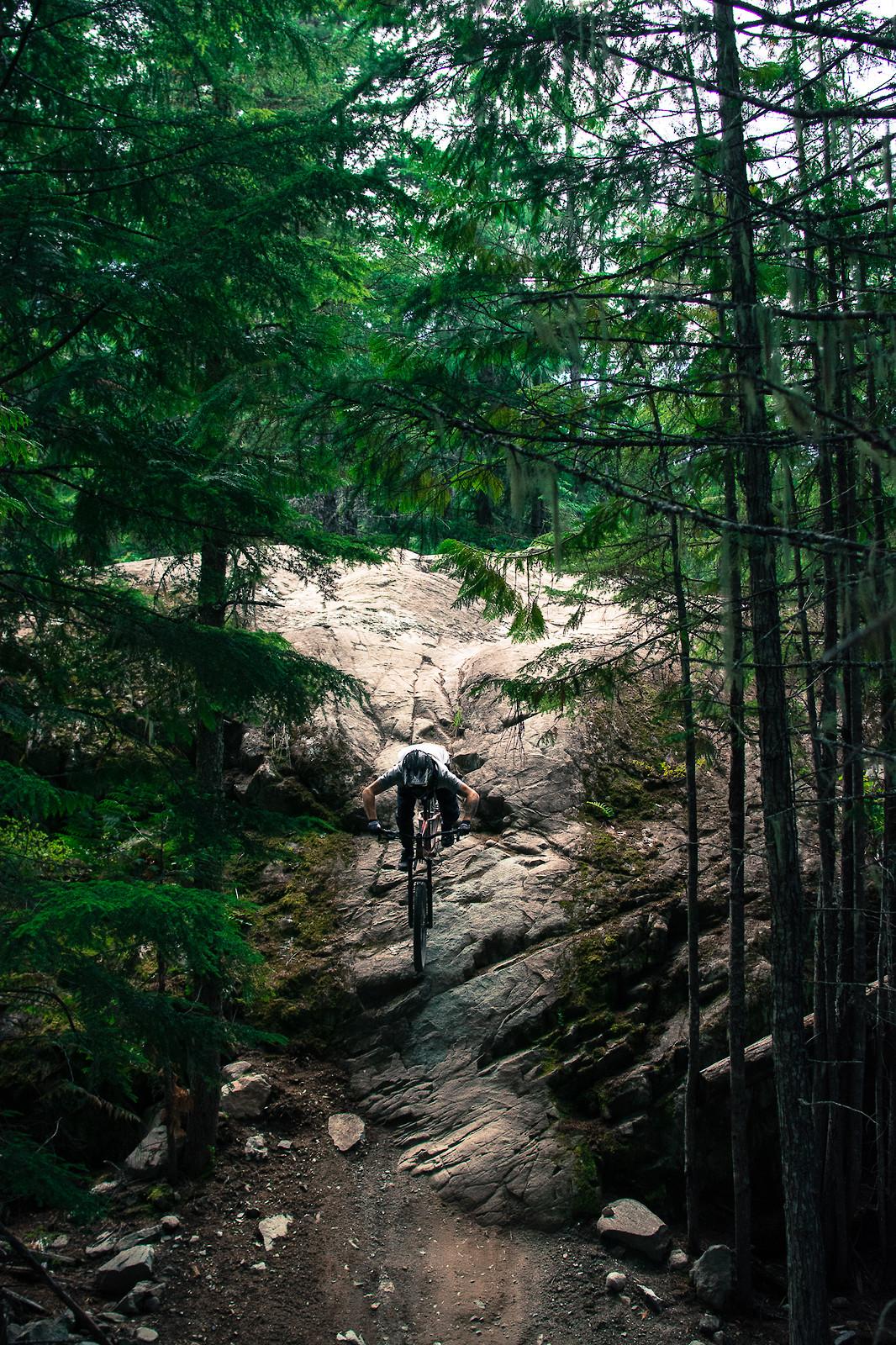 rock slave / Whistler Mountain Bike Park on hardtail - Banan - Mountain Biking Pictures - Vital MTB