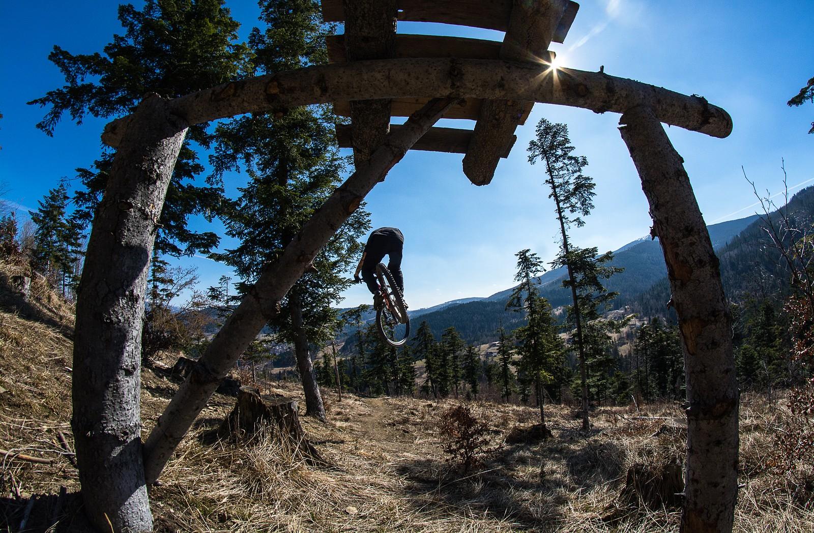 Droppin' into my hometrail - Banan - Mountain Biking Pictures - Vital MTB