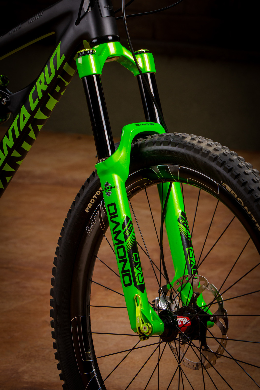 Santa Cruz Carbon Nomad Dvo Edition Mikelord S Bike