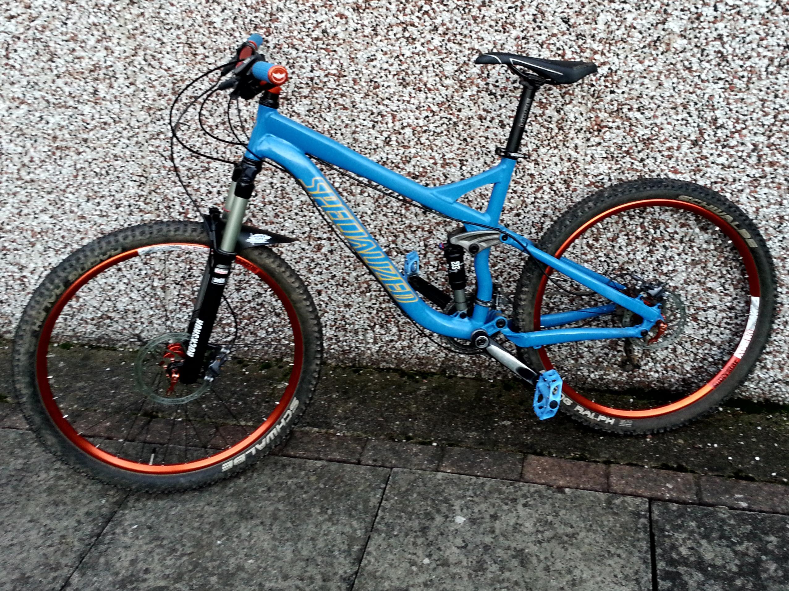 Custom Specialized FSR XC - deanhempshall's Bike Check ...