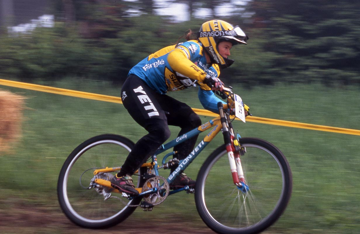 Curly Focused Yeti Cycles Mountain Biking Pictures