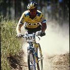 Ken Foraker mid race