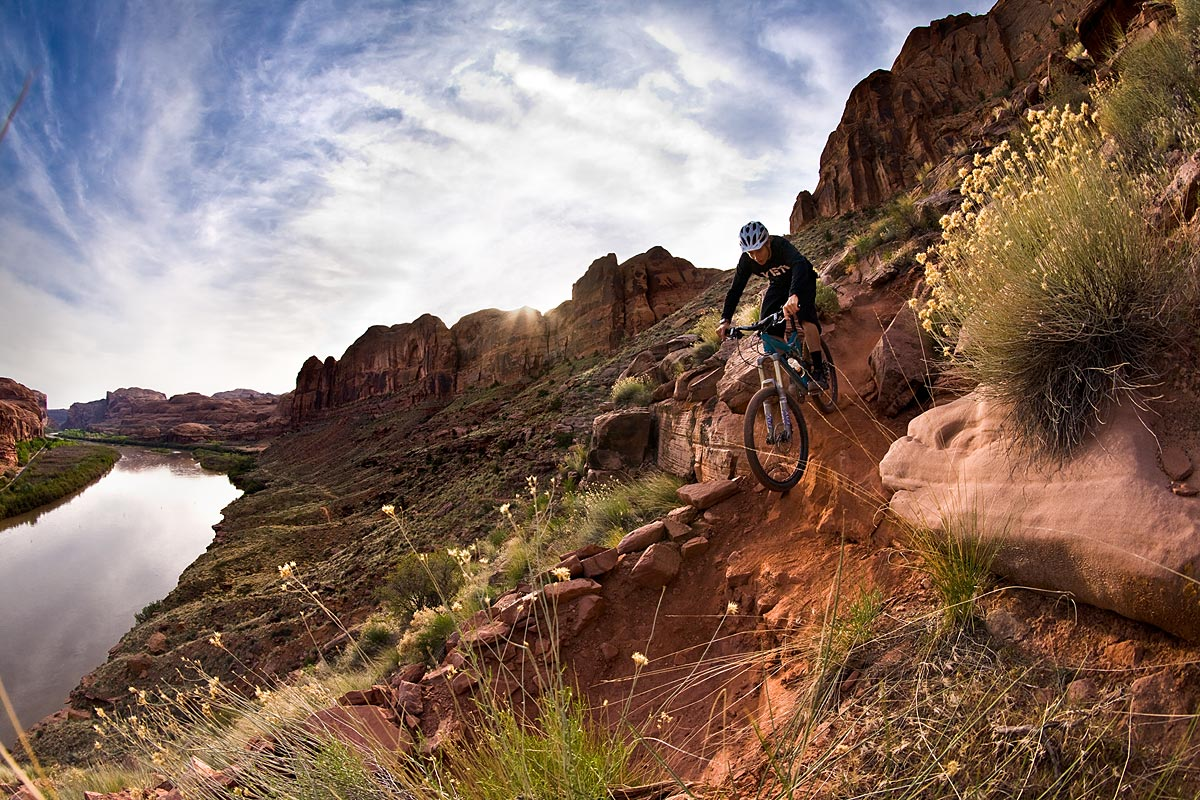 Moab Fruita Yeti Cycles Mountain Biking Pictures