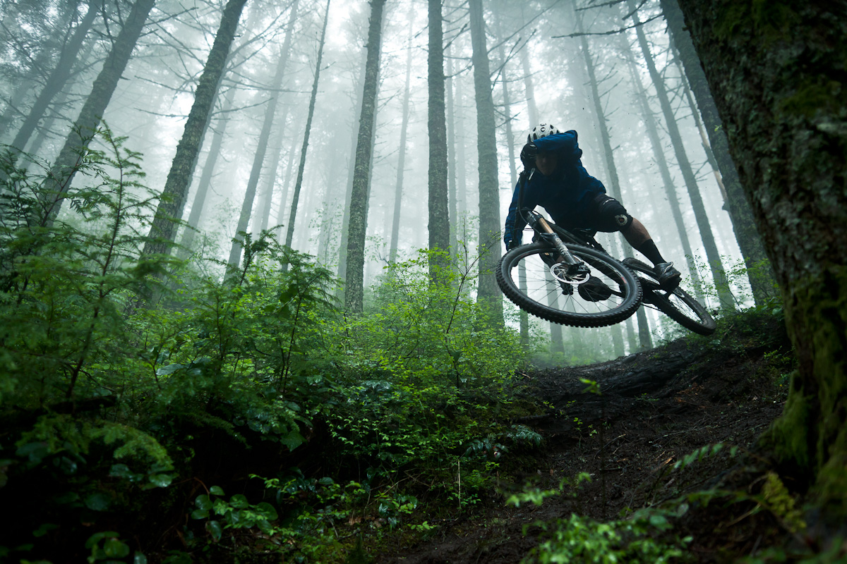 Pacific Northwest Yeti Cycles Mountain Biking Pictures
