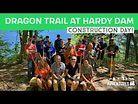 The Dragon Trail at Hardy Dam - Michigan Top MTB trail (under construction)