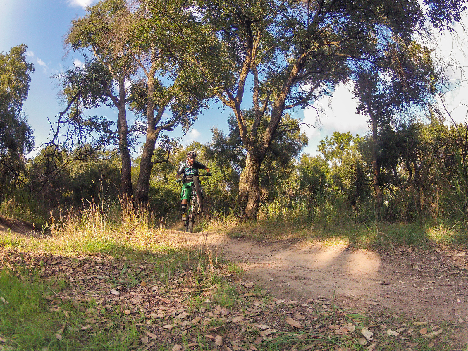 Manual at Pineta Sacchetti Rome - Gladiax87 - Mountain Biking Pictures - Vital MTB
