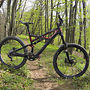 Specialized S-Works Enduro 2011 with 142+ rear end