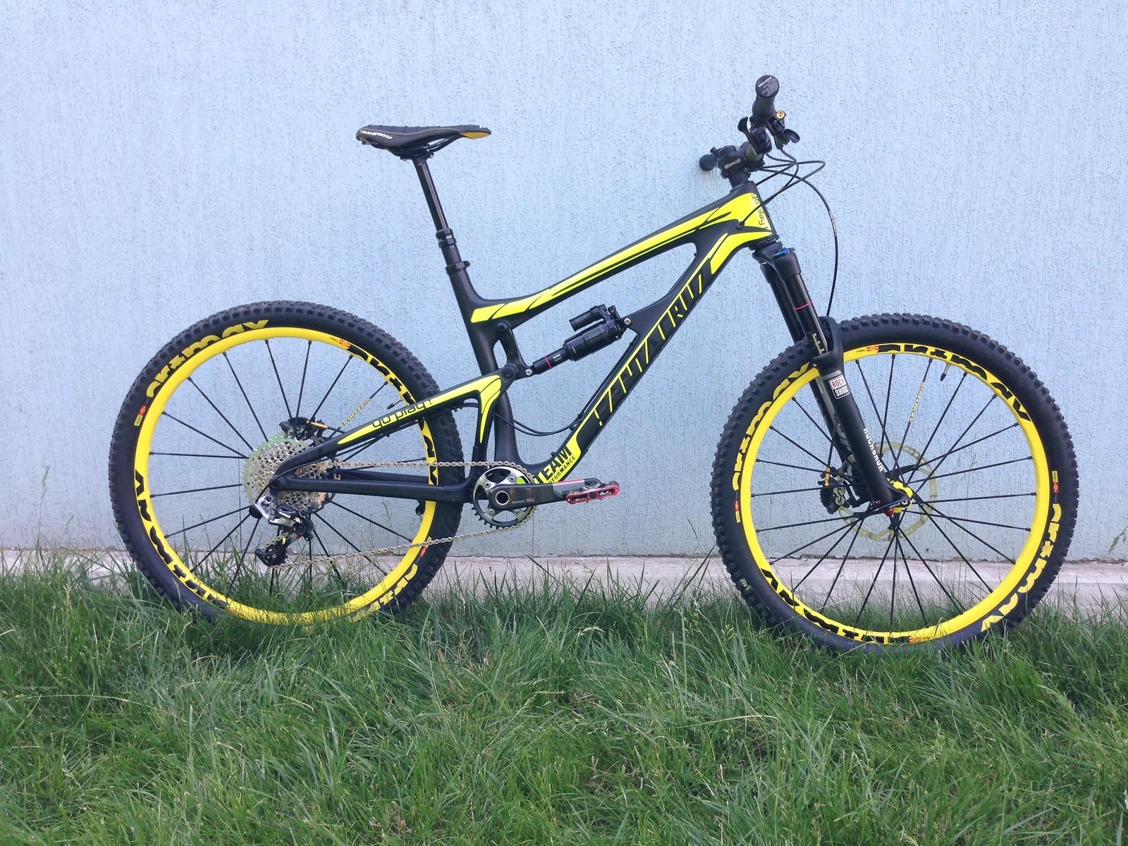 Santacruz Nomad Carbon 650B - Custom Look