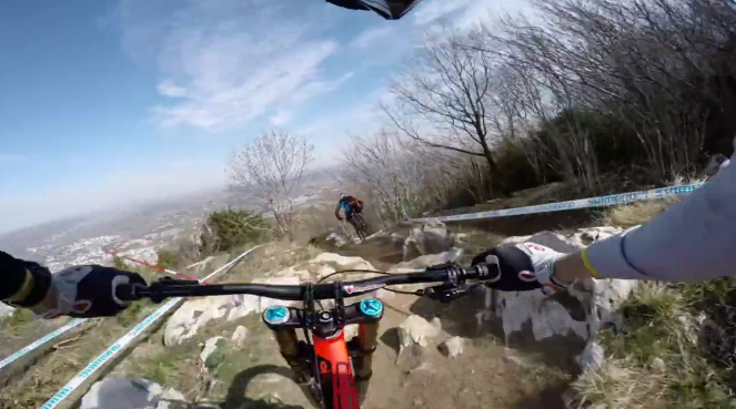 Lourdes World Cup Course Preview Antics with Claudio and Loïc Bruni
