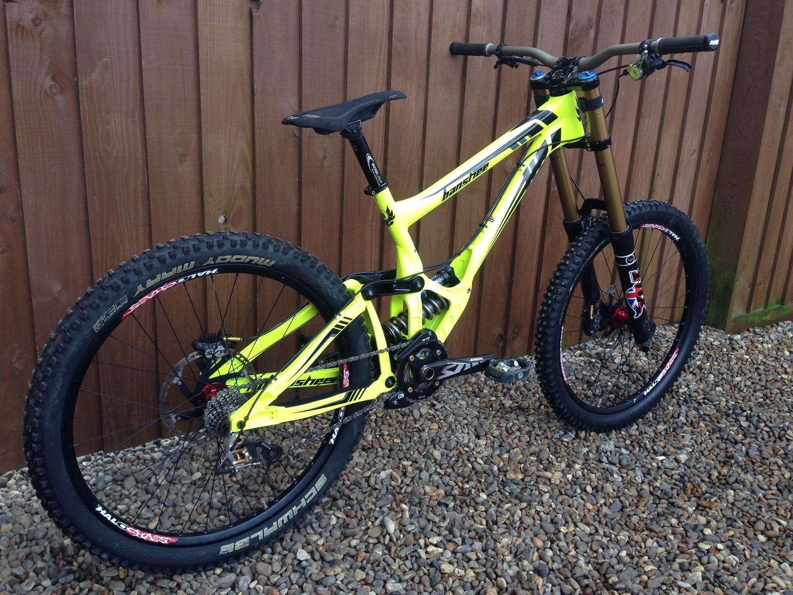 Banshee Bikes Legend MKII 2014