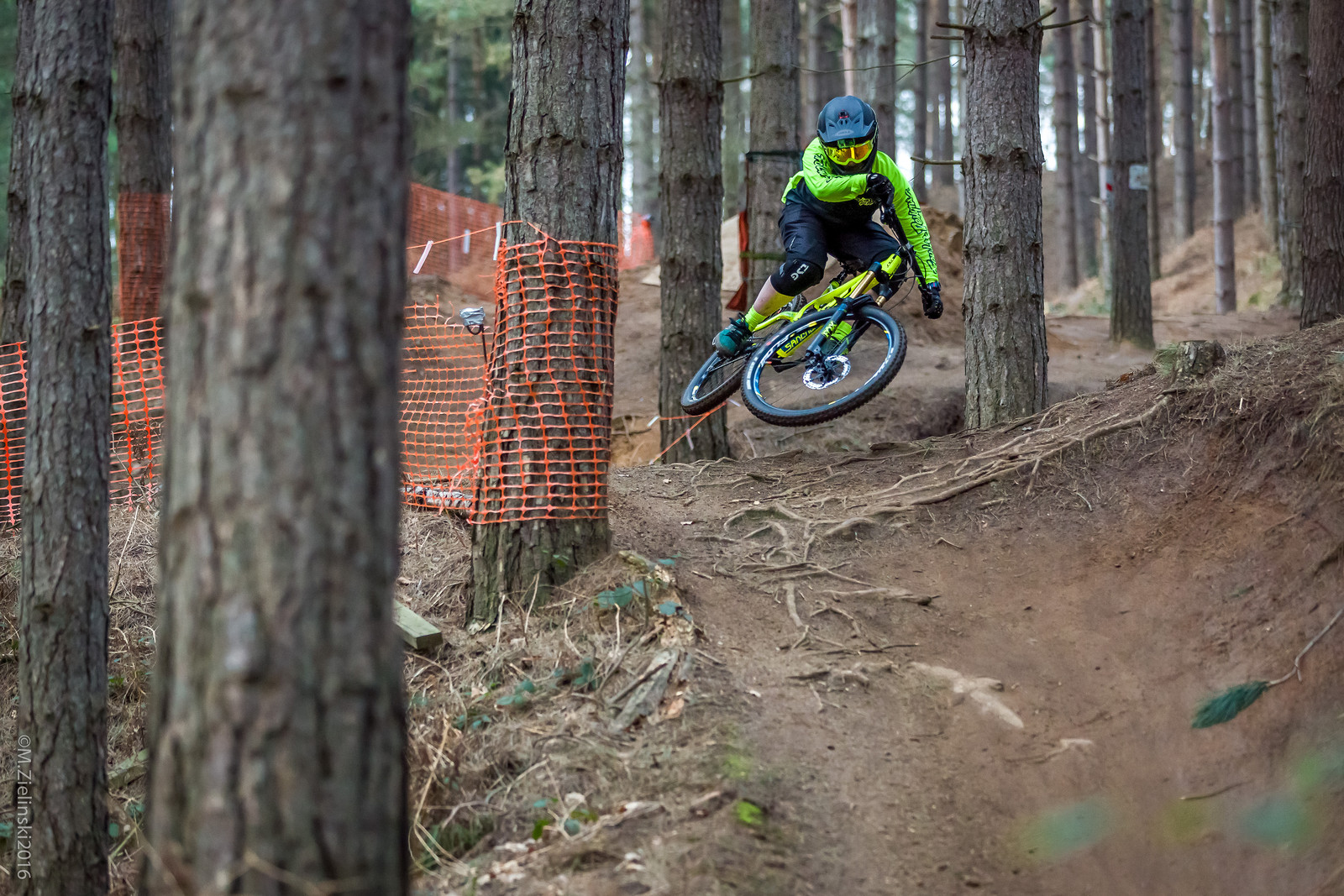 Miss Joey Gough shredding Chicksands bike park - mzed - Mountain Biking Pictures - Vital MTB