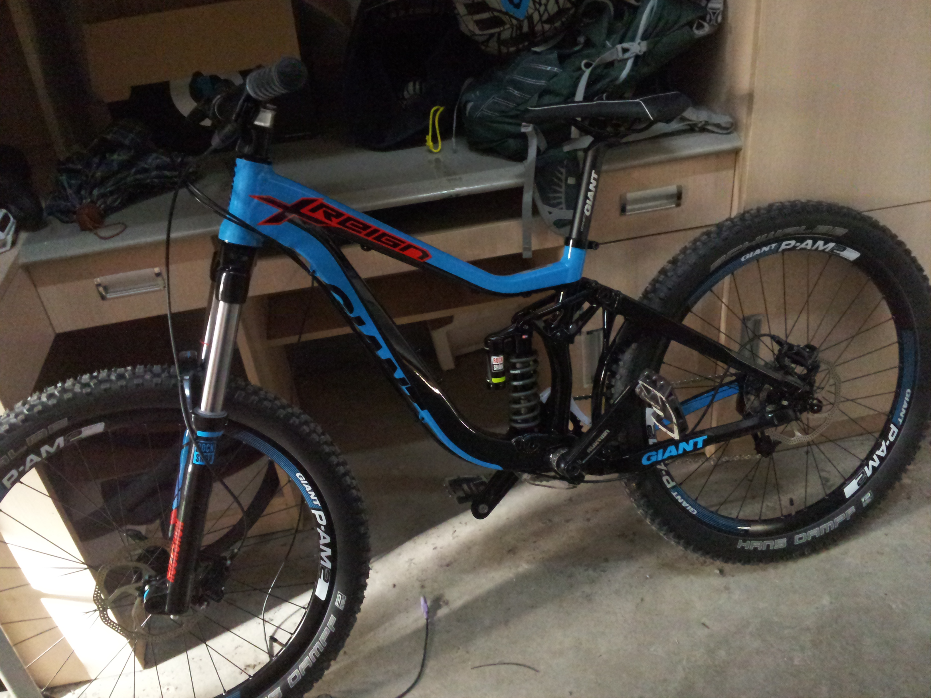 Giant Reign Sx 2014 Skywalkerzwj S Bike Check Vital Mtb
