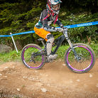 Christina Faust at Beech Mountain Downhill Series Race #3