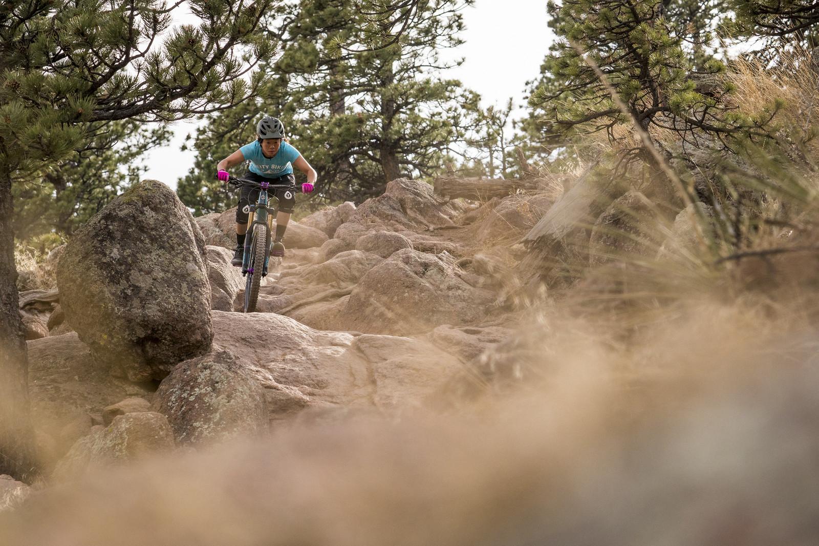 Rock Garden - gold_007 - Mountain Biking Pictures - Vital MTB