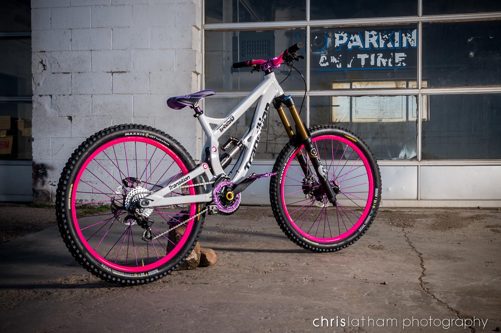 A Girl's TR250 - Custom
