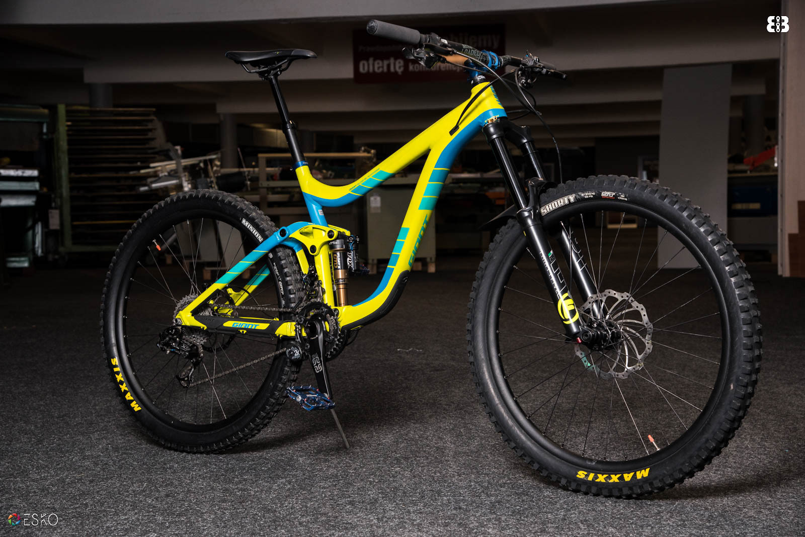 97ef6ad4b5c Giant Reign 2 LTD 2016 - F***ing bright lime - Marciniasz's Bike ...