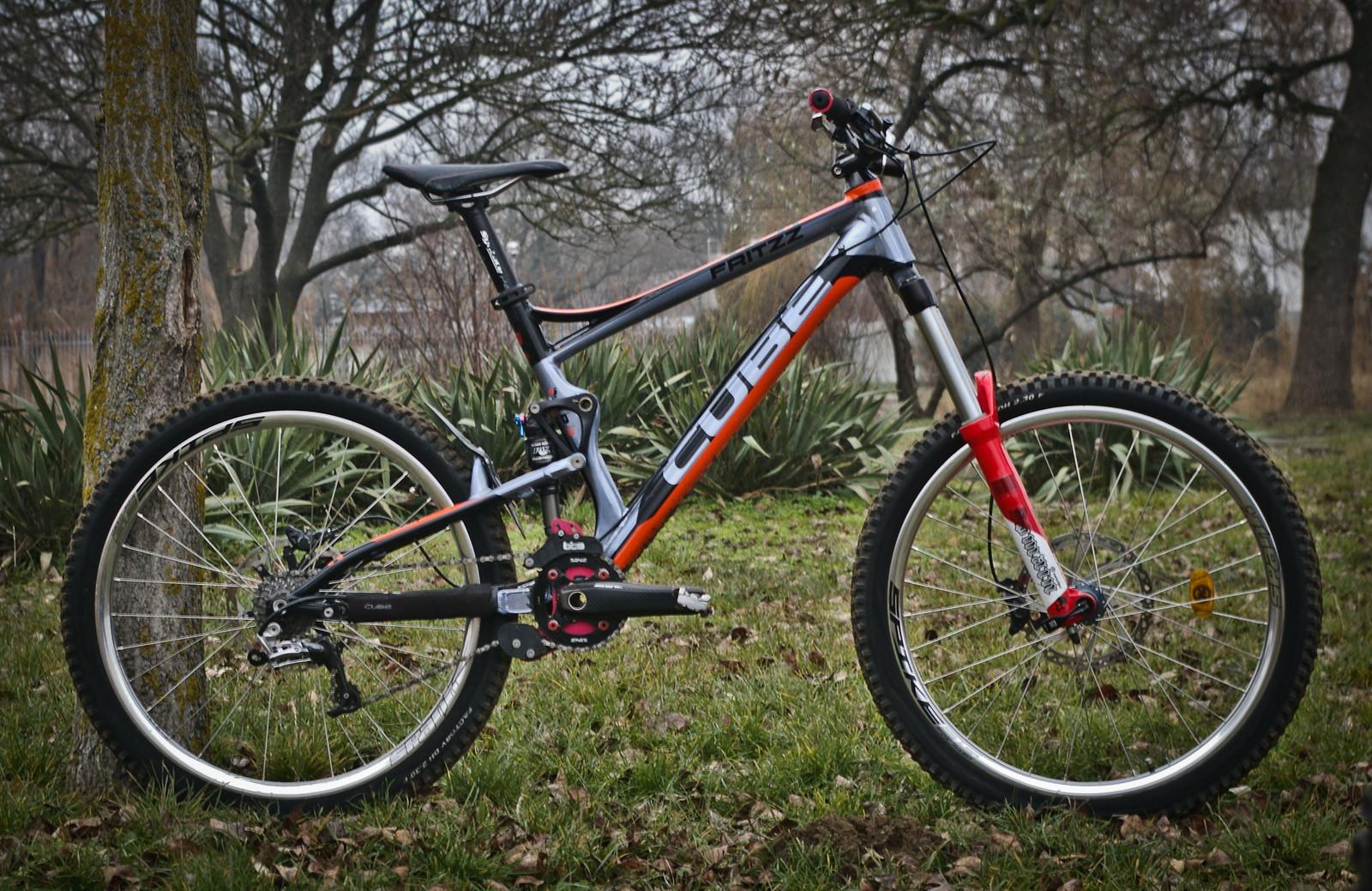 Cube Fritzz Sl Custom Tibor M S Bike Check Vital Mtb
