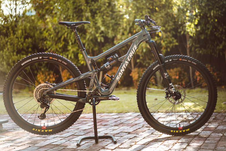 Santa Cruz Hightower LT - Ozben's Bike Check - Vital MTB