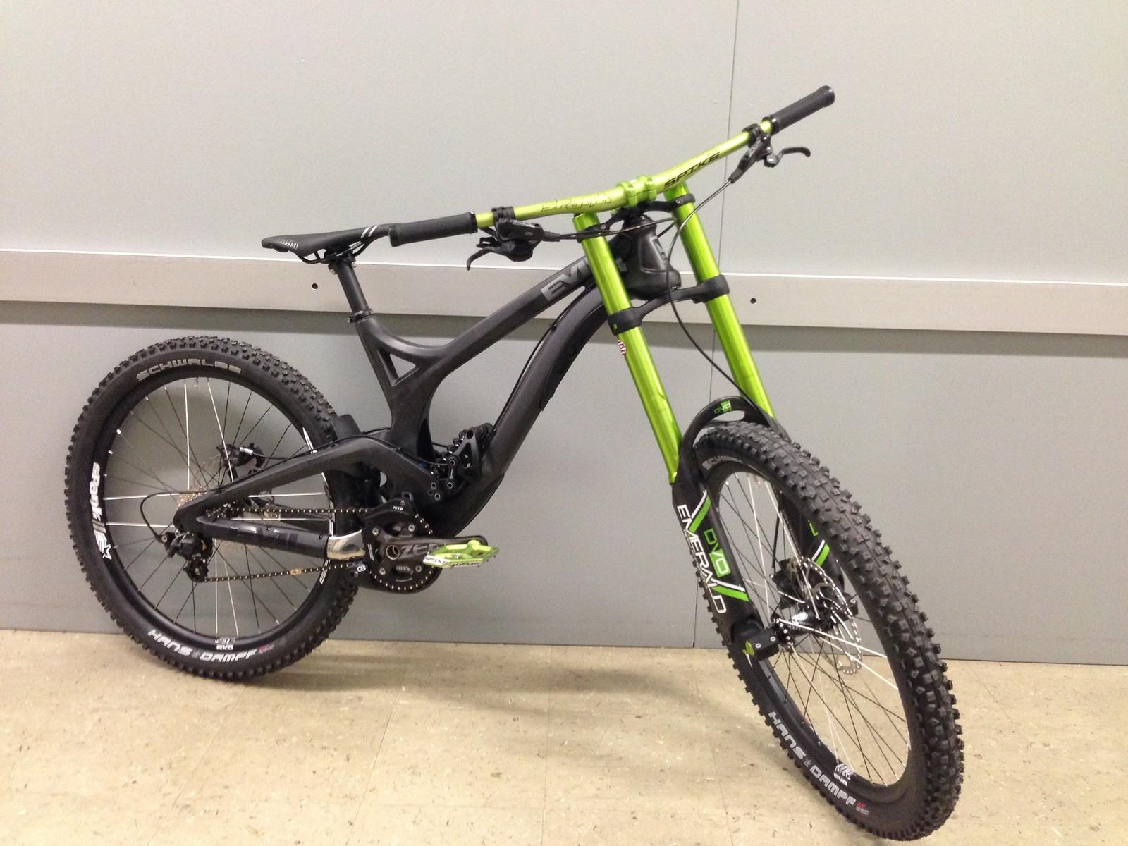DVO-Spank-Evil Bike
