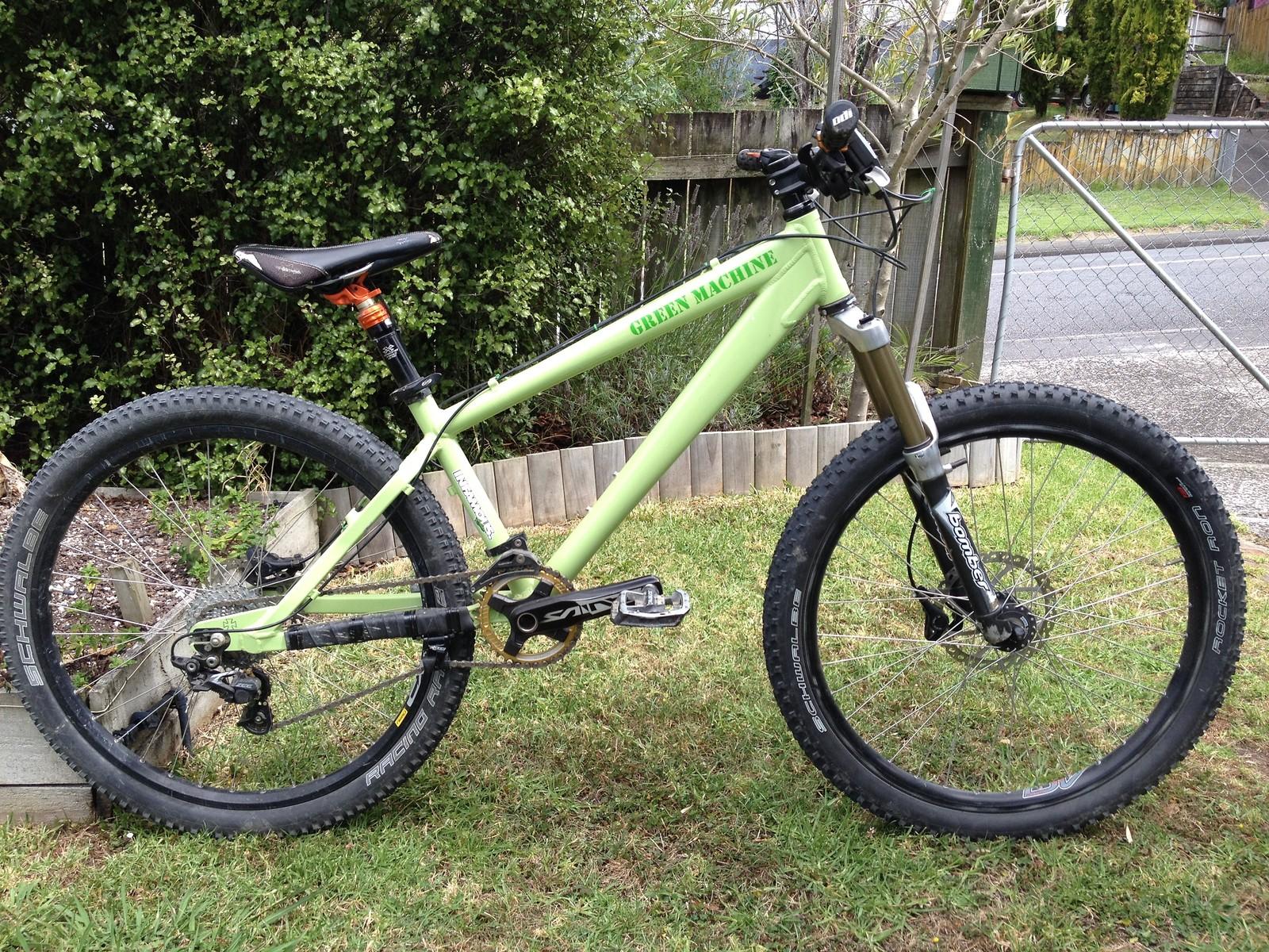 """Green Machine"" - DaBomb Sputnik hack bike"