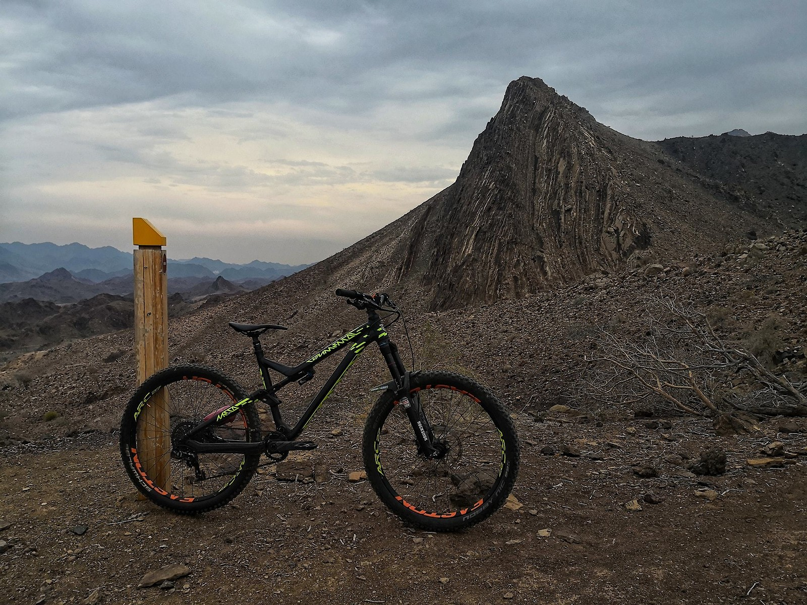 Hatta Mountainbike Trail UAE