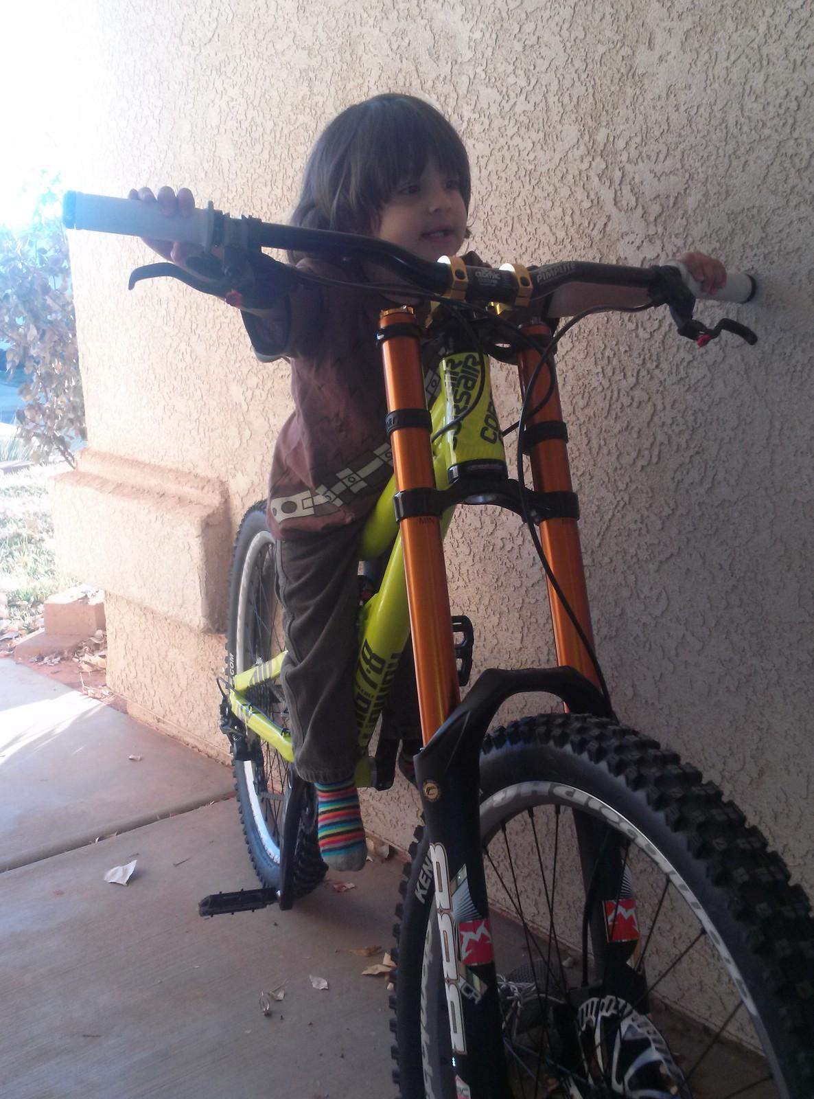 Konig 7·8 in the USA - Corsair Bikes - Mountain Biking Pictures - Vital MTB