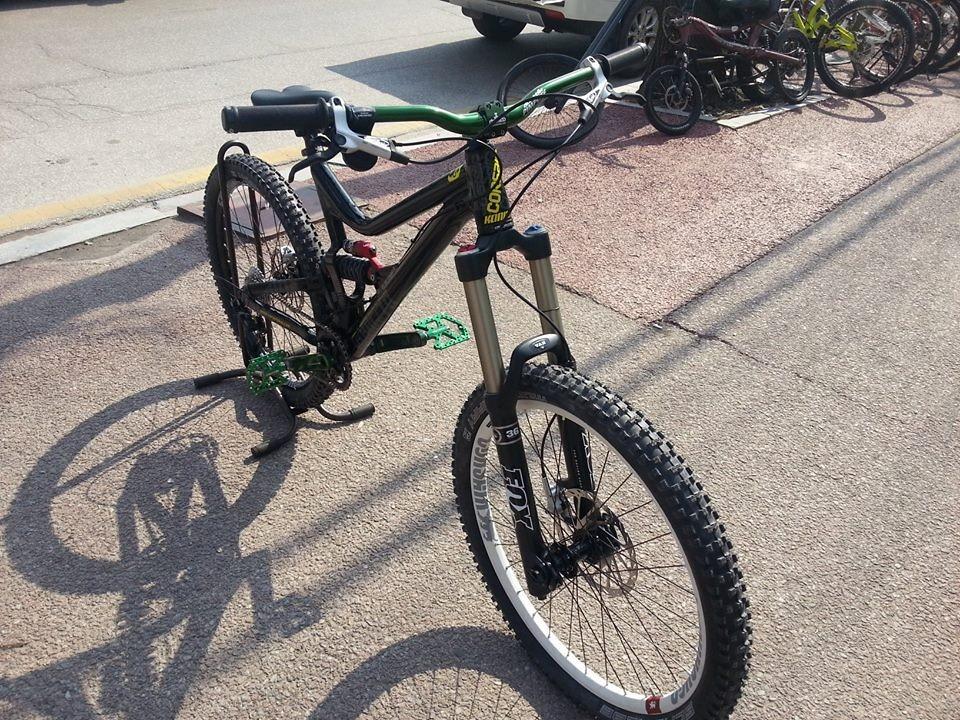 More Korea Demo Konig 78 - Corsair Bikes - Mountain Biking Pictures - Vital MTB