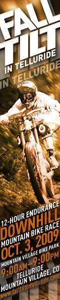 Fall Tilt in Telluride Web Banner 160x600 - Full Trucker - Mountain Biking Pictures - Vital MTB