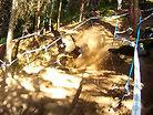 Sam Hill's Crash at Val di Sole