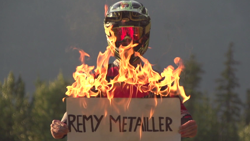 Remy Métailler Burns the Whistler Bike Park