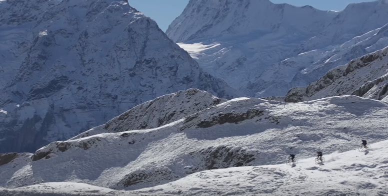 Singletrack Glory in the Shadow of the Eiger