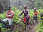 Heli Drop Mountain Biking