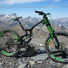 Santa Cruz V10 cc - DVO Green Machine