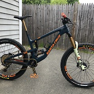 Custom Santa Cruz Nomad 4