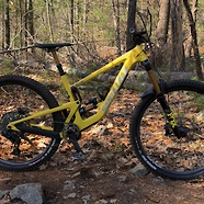 Custom Amarillo Yellow Santa Cruz Megatower