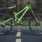 Prototype 650B Banshee Legend DH Bike