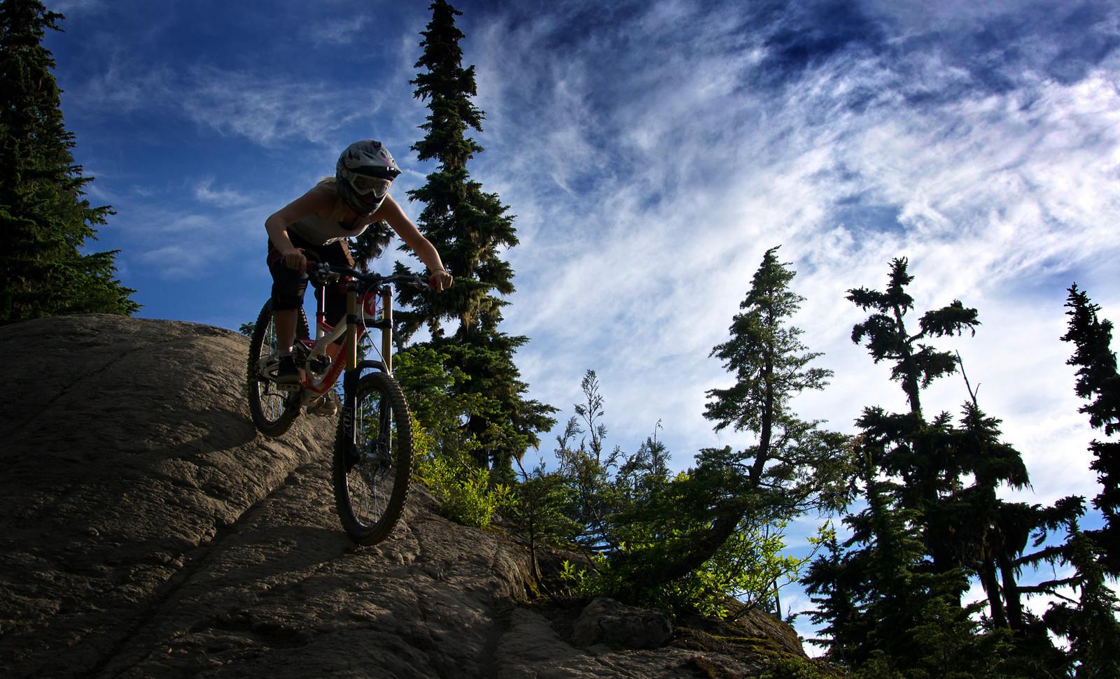 Big Rocks and Blue Sky - Dylan Kish - Mountain Biking Pictures - Vital MTB