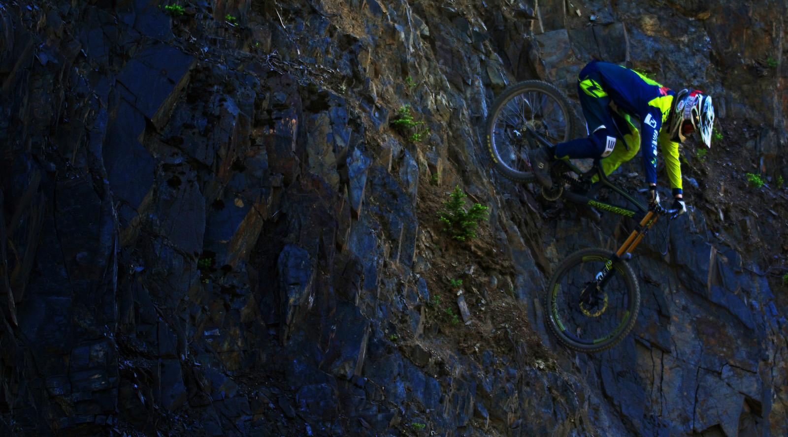 The Shale Wall - Dylan Kish - Mountain Biking Pictures - Vital MTB