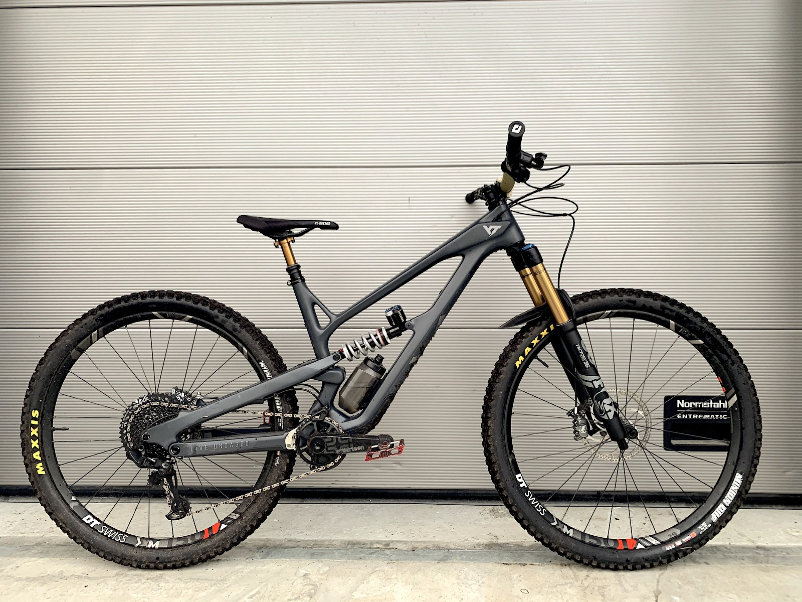fourth version now? This version rips - super fun for wet and slippery autumn trails