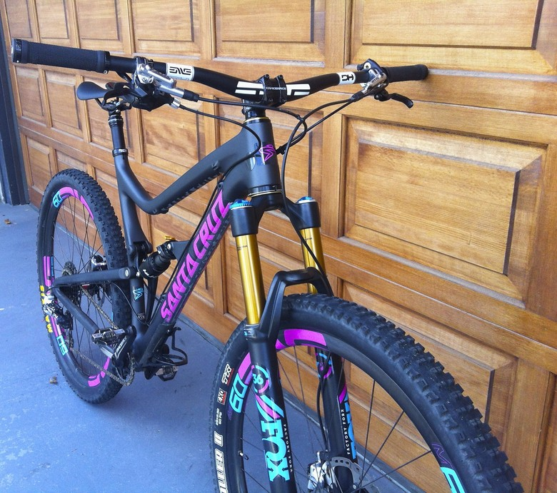 Custom Santa Cruz Tallboy