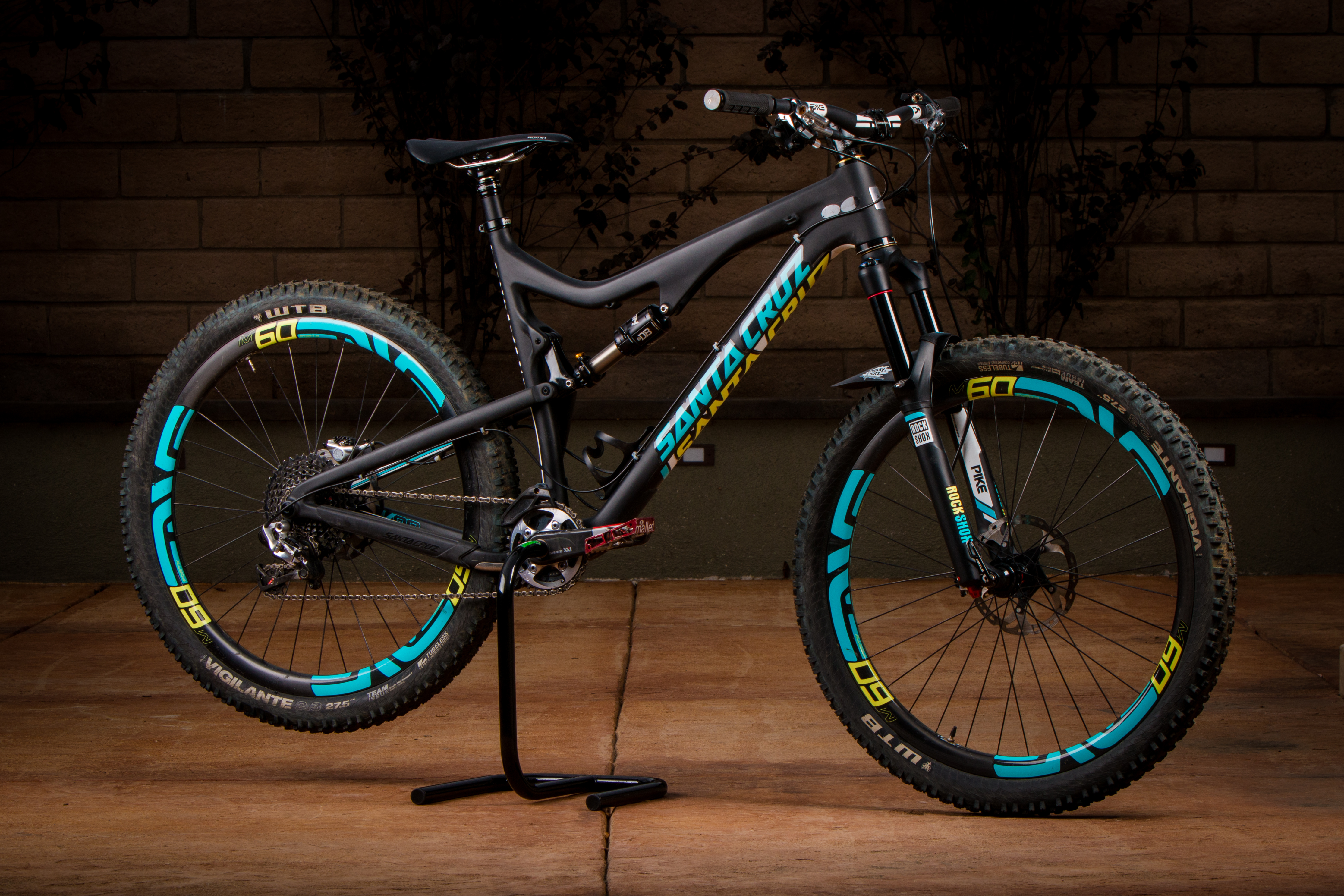 Custom Santa Cruz 5010 Troydon Murison S Bike Check