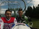 A day of Downhill on the Alpe Mera (ITA)
