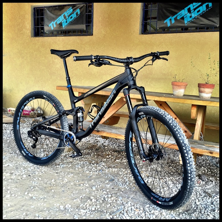2017 Stealth Black Transition Scout