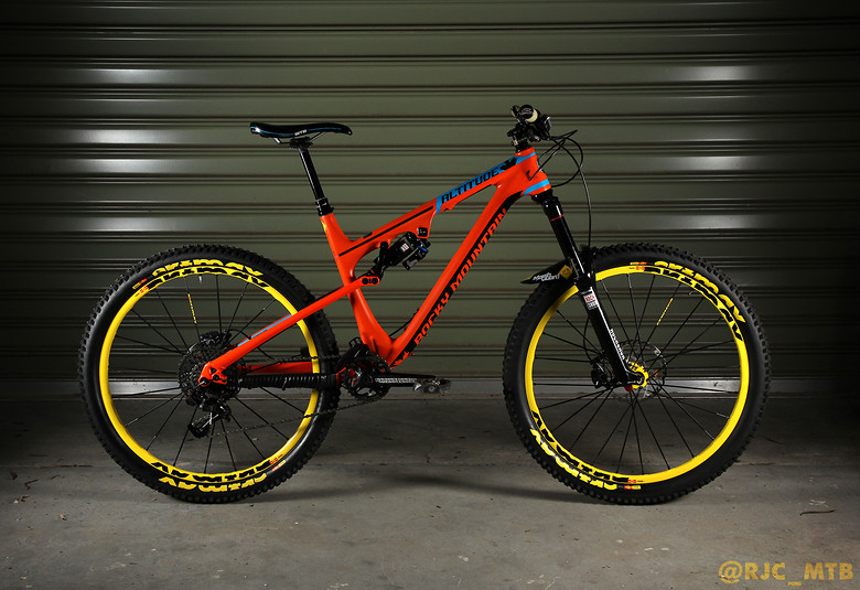 Rocky Mountain Altitude MSL Rally Edition Rjcmtbs Bike - Altitude here