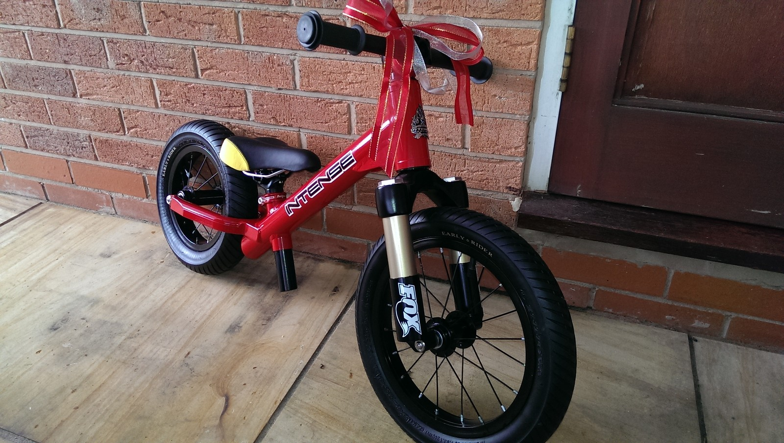 Custom made balance bike. Almost completely made by me...
