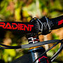 FSA Gradient bar (with FSA Red Decals), stem, headset spacers and headset with custom gold top cover.  Bolts by Better Bolts Ti Bolts