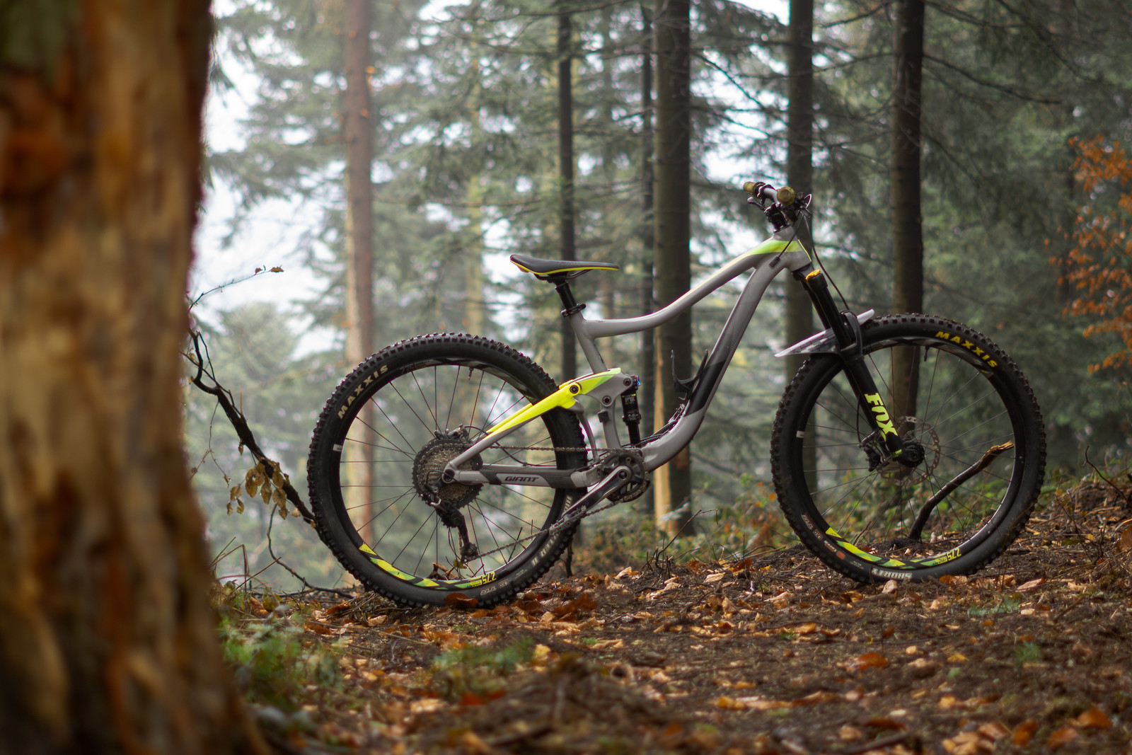 Almost serial Giant Trance, modified for steep slopes and high mountain trails.